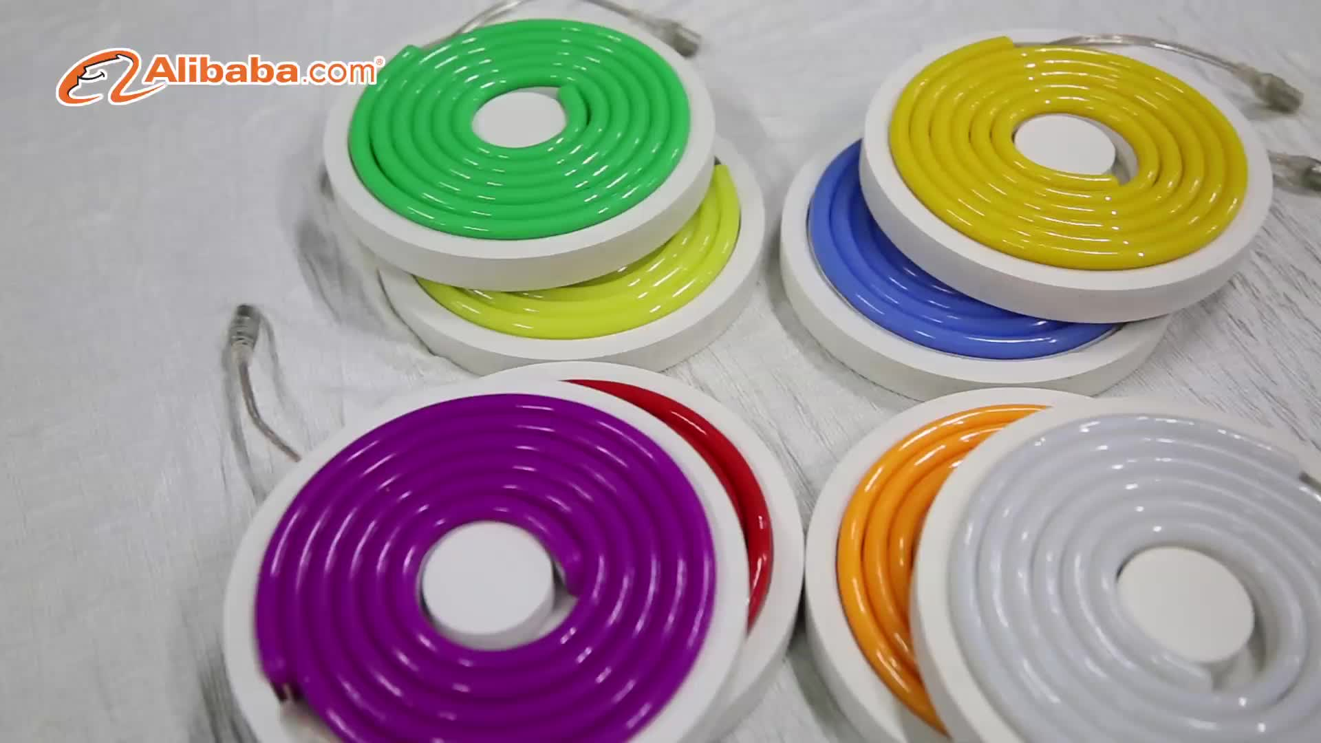 RGB цветная вывеска светодиодная Неоновая Гибкая для украшения кухни