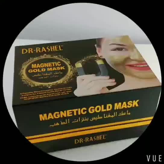 Dr rashel New Design Gold Collagen Magnetic Mask Deep Cleaning Anti-wrinkle  Whitening Mud Face Mask - Buy Magnetic Mask,Magnetic Face Mask,Magnetic
