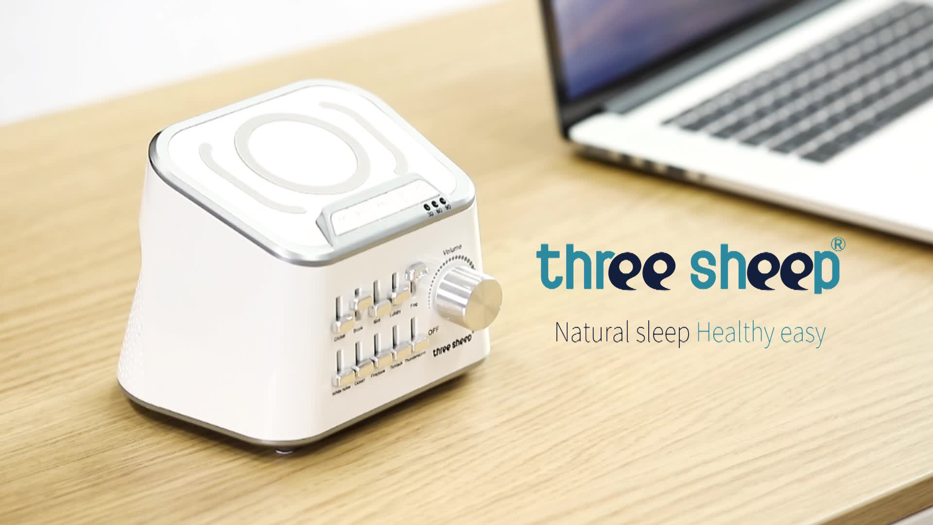 Oem/Odm New Design Personal White Noise sleep sound  Machine For Spa Relaxation