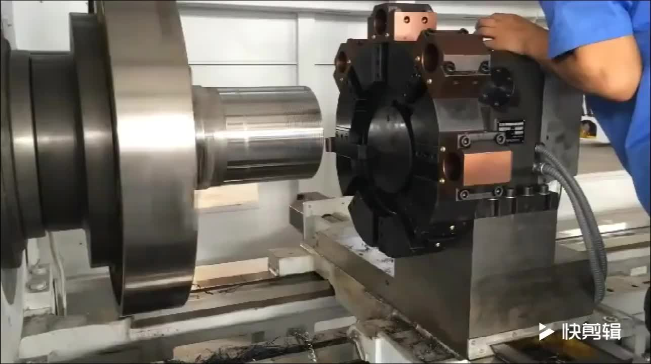 Big Spindle and Heavy Duty Lathe Machine Used for PVC Pipe Thread Lathe For Sale