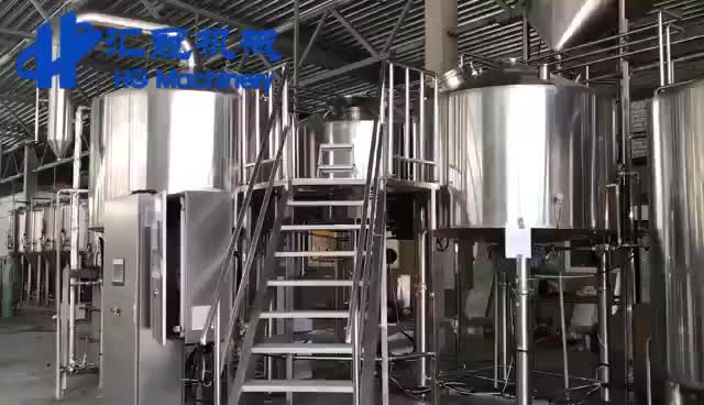 The professional 2000L beer machine for craft beer
