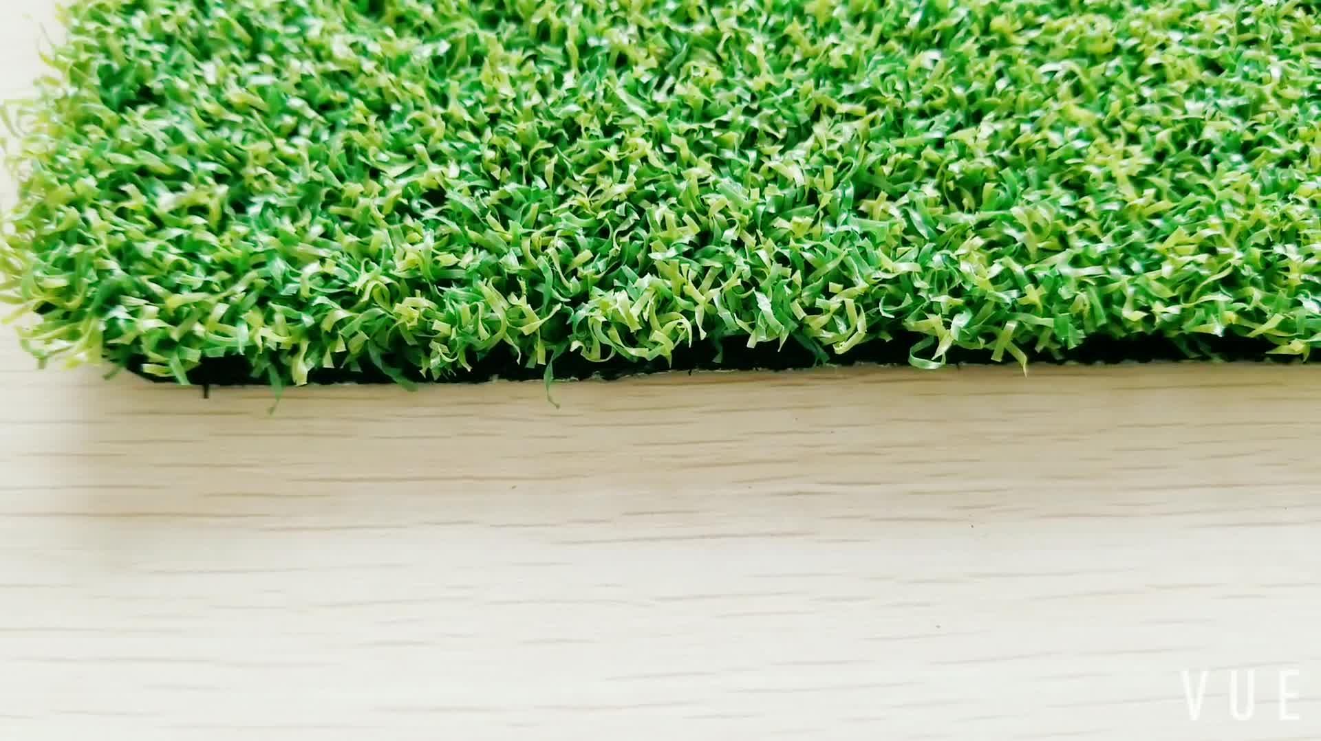 กรีนกอล์ฟพรมสังเคราะห์สนามหญ้าหญ้าเทียมสำหรับฮอกกี้และประตูบอล