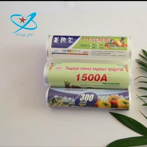 Plastic Wrap Food Grade Biologisch Afbreekbaar Composteerbaar Stretch Vershoudfolie