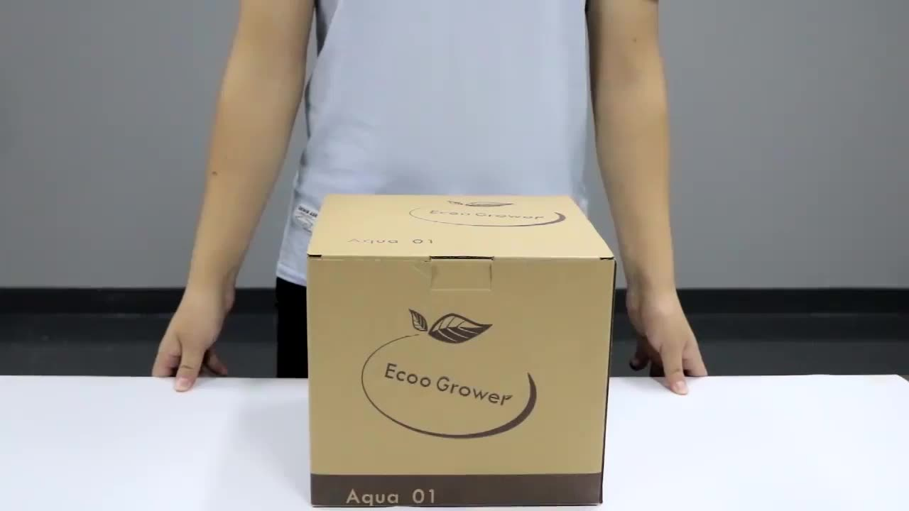 Plant growth light Intelligent Hydroponics for home garden