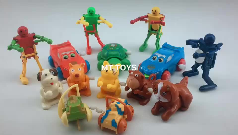 Wholesale cheap kids funny plastic wind up robot toy dancing toy robot