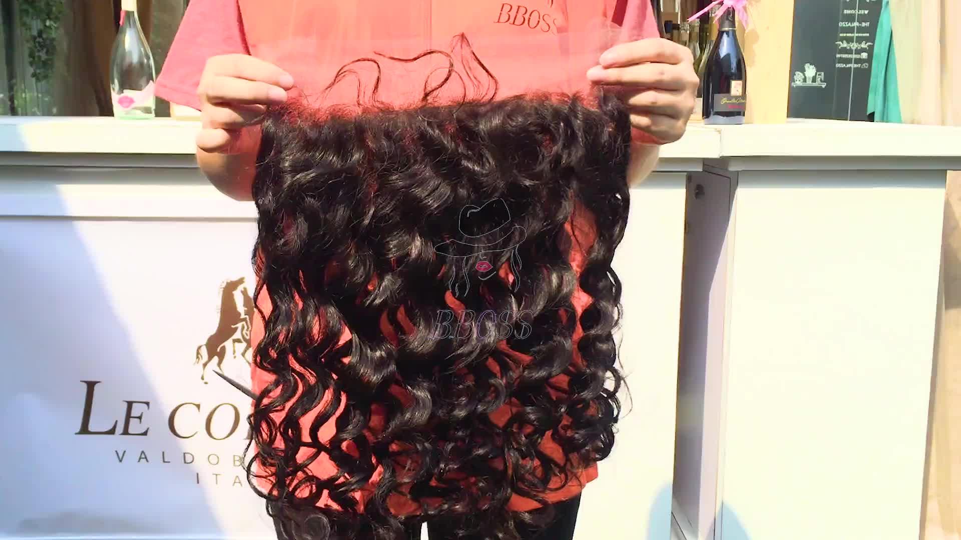 Perruques de cheveux humains 100% naturelles en gros bon marché, perruques de dentelle de livraison en hd pendant la nuit, perruque brésilienne hd avant de lacet de cheveux humains
