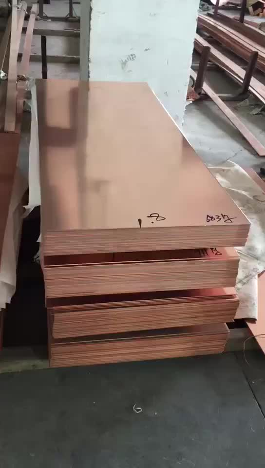 China H63 C27200 Brass Copper Sheet Cuzn37 Copper  Plate Coil