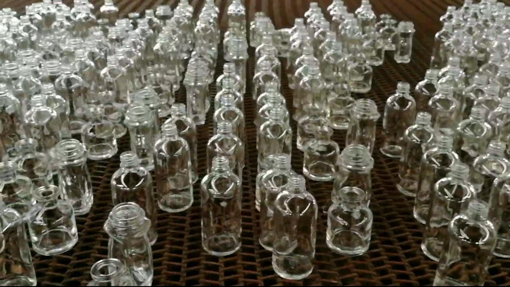 Runde Glasflasche 50m 100ml 180ml 240ml 350ml 500ml Auf Bestellung als Käufer Muster