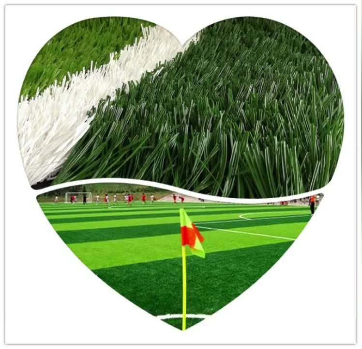 Environment Friendly Synthetic Artificial Grass For Indoor Soccer