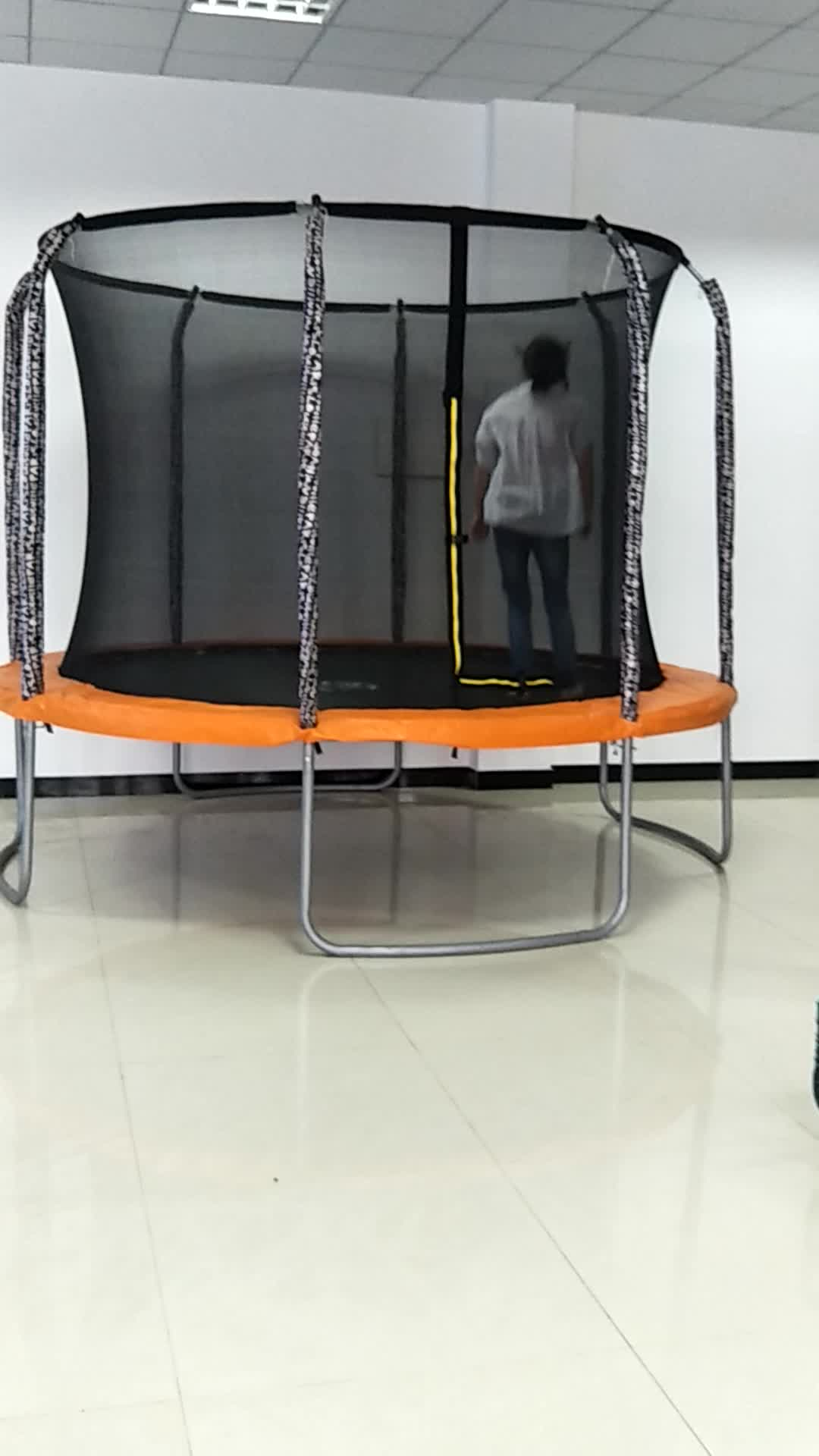 10ft große trampoline mit Foam Pit und gehäuse zum verkauf