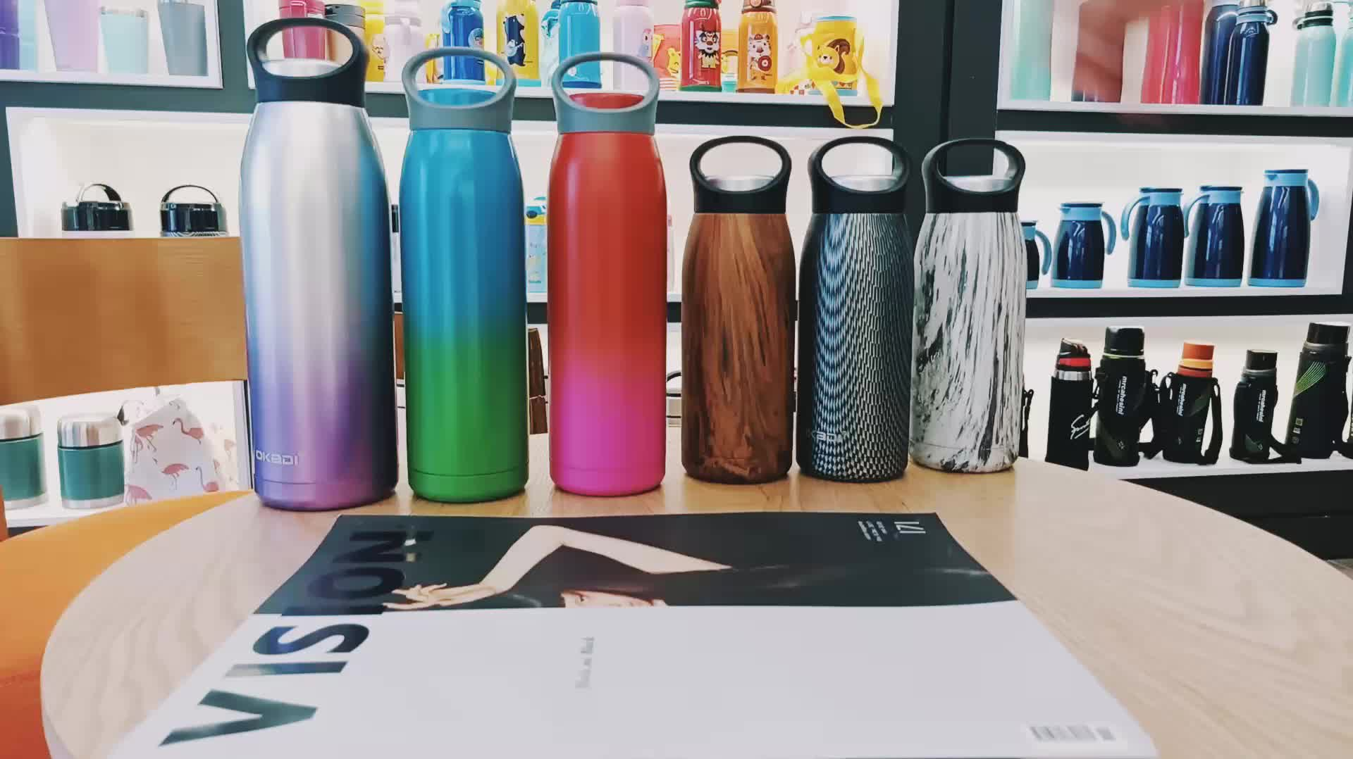 2020 Hot Selling Custom Stainless Steel Sport Water Drinking Thermal Bottle