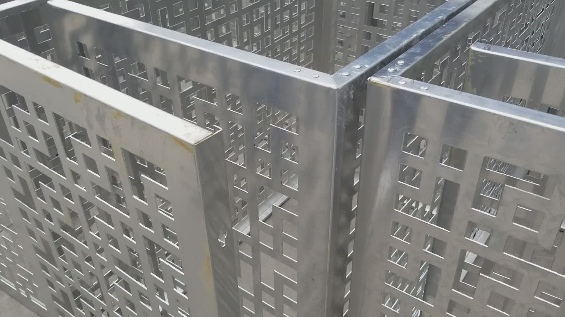 Metal Cover Air Conditioner