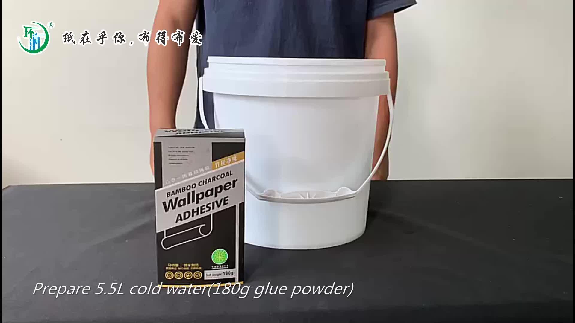 Quickly Dissolove In Cold Water Wallpaper Glue Powder ...