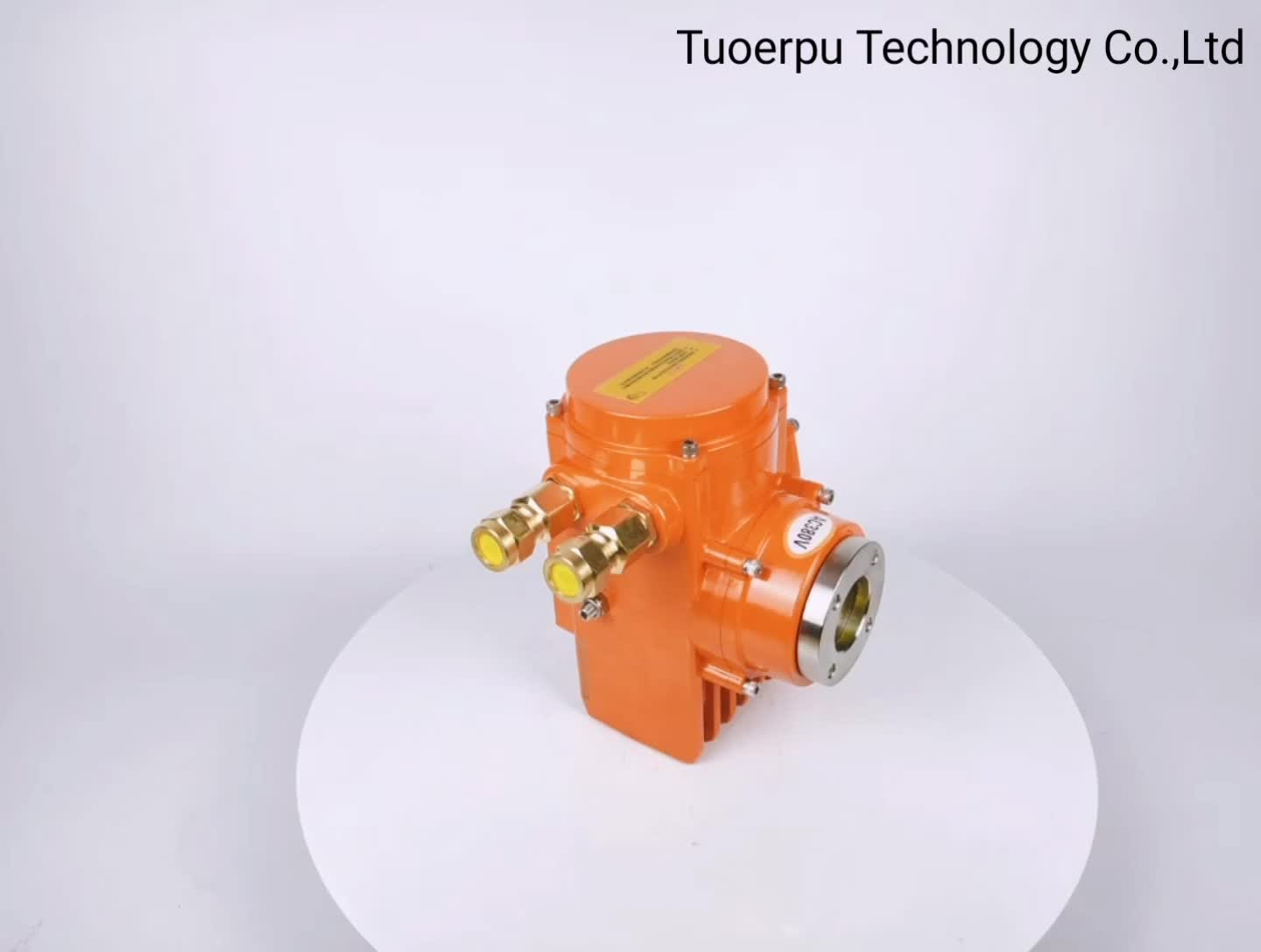 Zhejiang explosion-proof electric actuator Manufacture