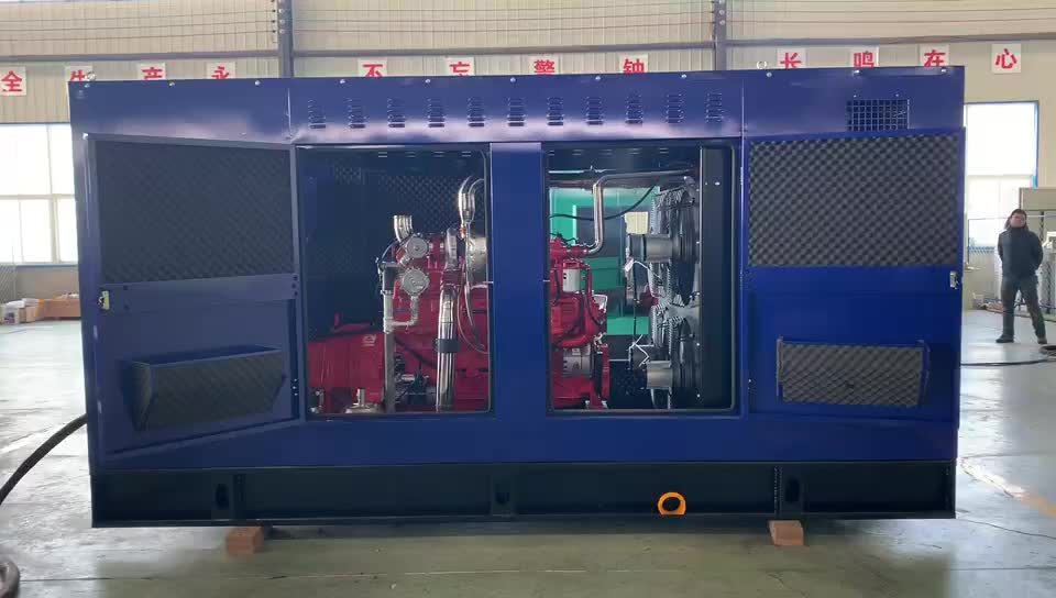 500kw LNG CNG natural gas generator with Man engine