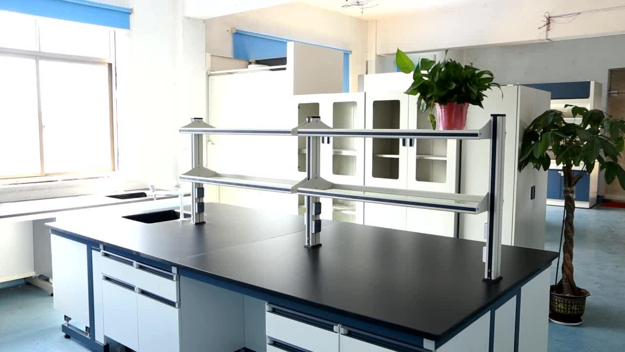 ラボテーブル試薬棚引き出し物理化学医療ラボ家具カスタマイズ研究所ワークベンチ