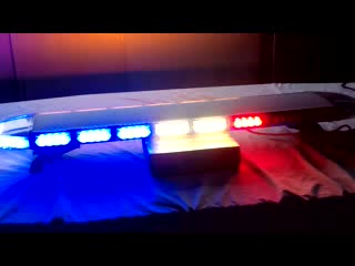 LED Ambulance warning light bar