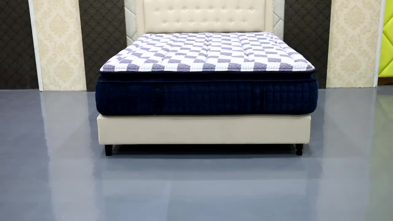 D26 Diglant Gel Memory Foam Latest Double Single Bed Fabric Foldable King Size Natural hotel  mattresses