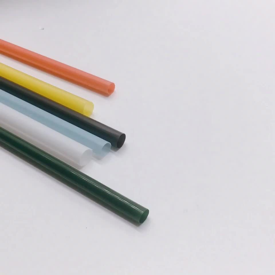 Eco-friendly Accessories eco biodegradable PLA Drink bar 6mm straw