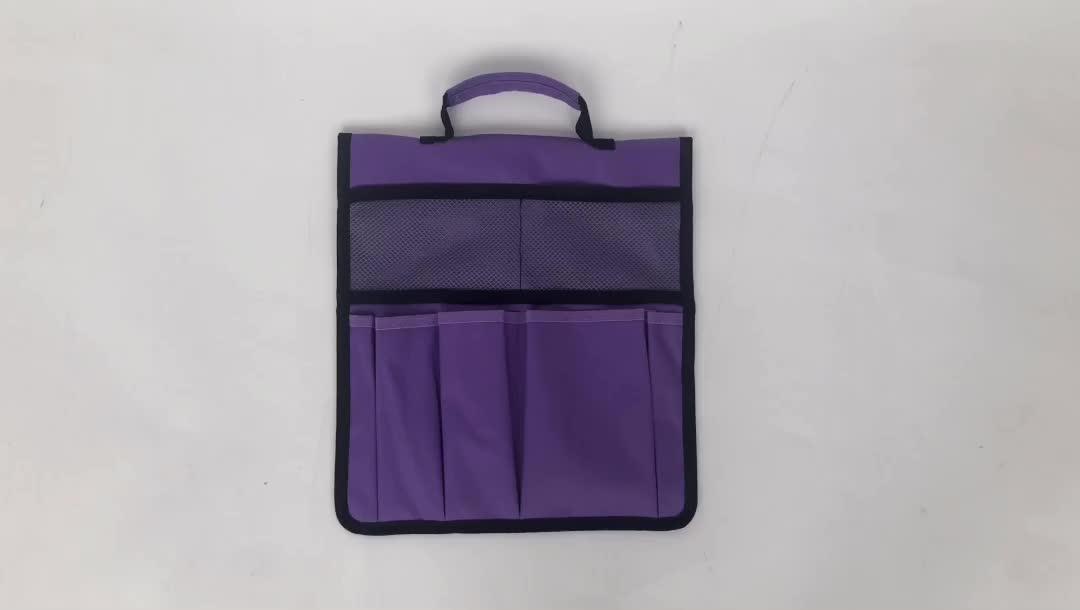 Folding Hanging Lightweight Portable Garden Side Kneeler Tool Bag with Handle to Storage Gardening Tools