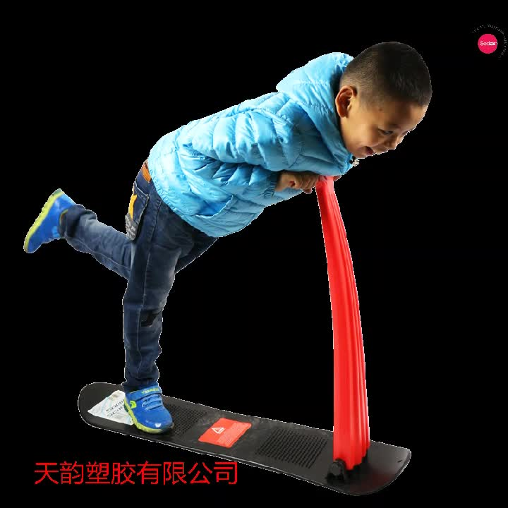 2017 winter toys kids snow glider kick scooter as Gift