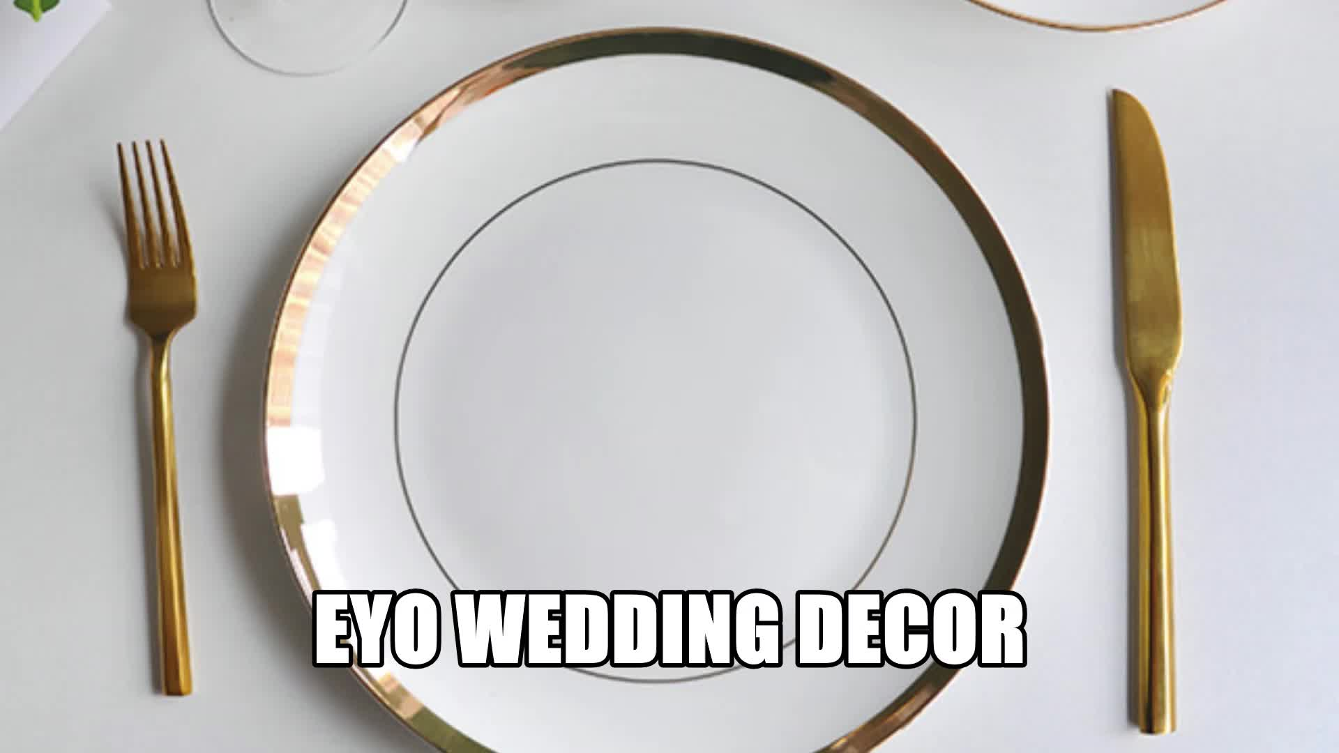 Hot sale factory direct ceramic bone china dinner plates for sale