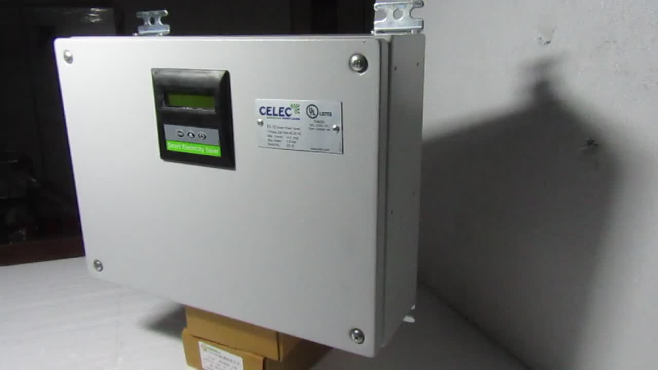 Smart Electricity Saver with Display CE & UL approved