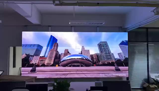 Hot selling no gap LCD video wall 49 inch combine big size