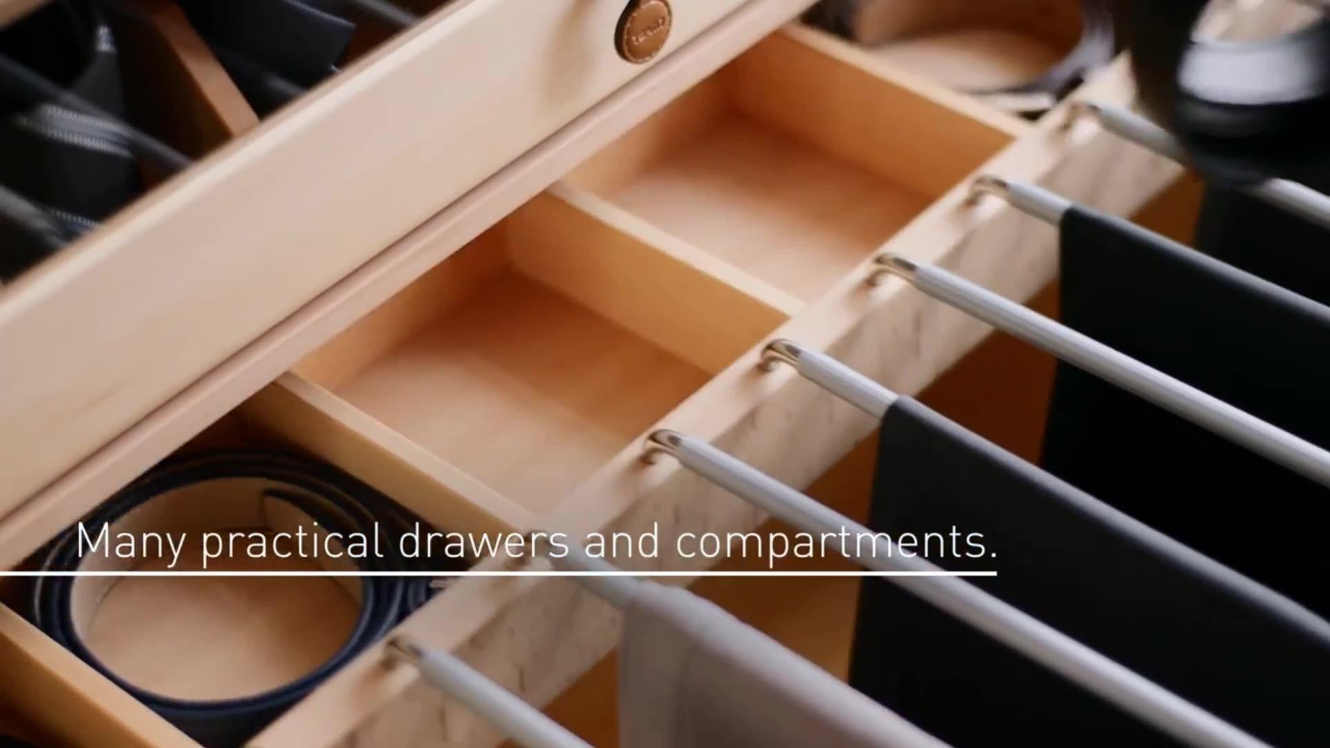 Trlife armoire godrej almirah conçoit avec le prix en bois almari image