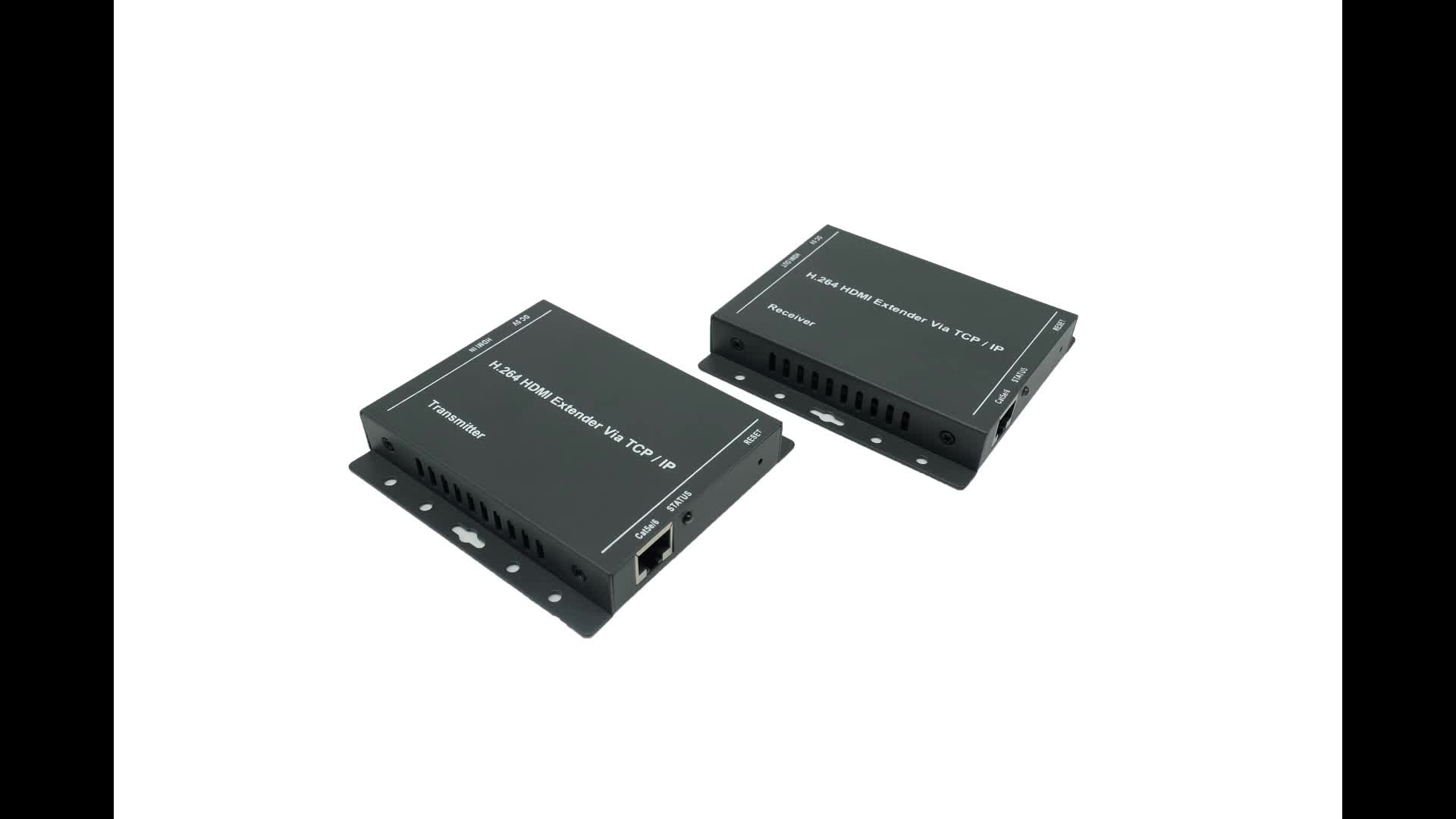 PWAY DT216L Video Transmitter and Receiver 200M Over IP one to many 1080P HD Extender