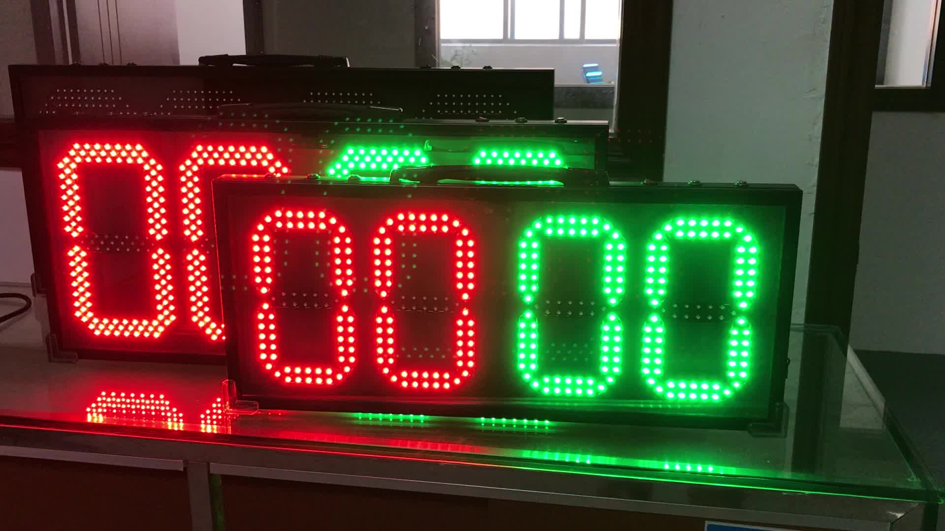 led football substitute display board for sale