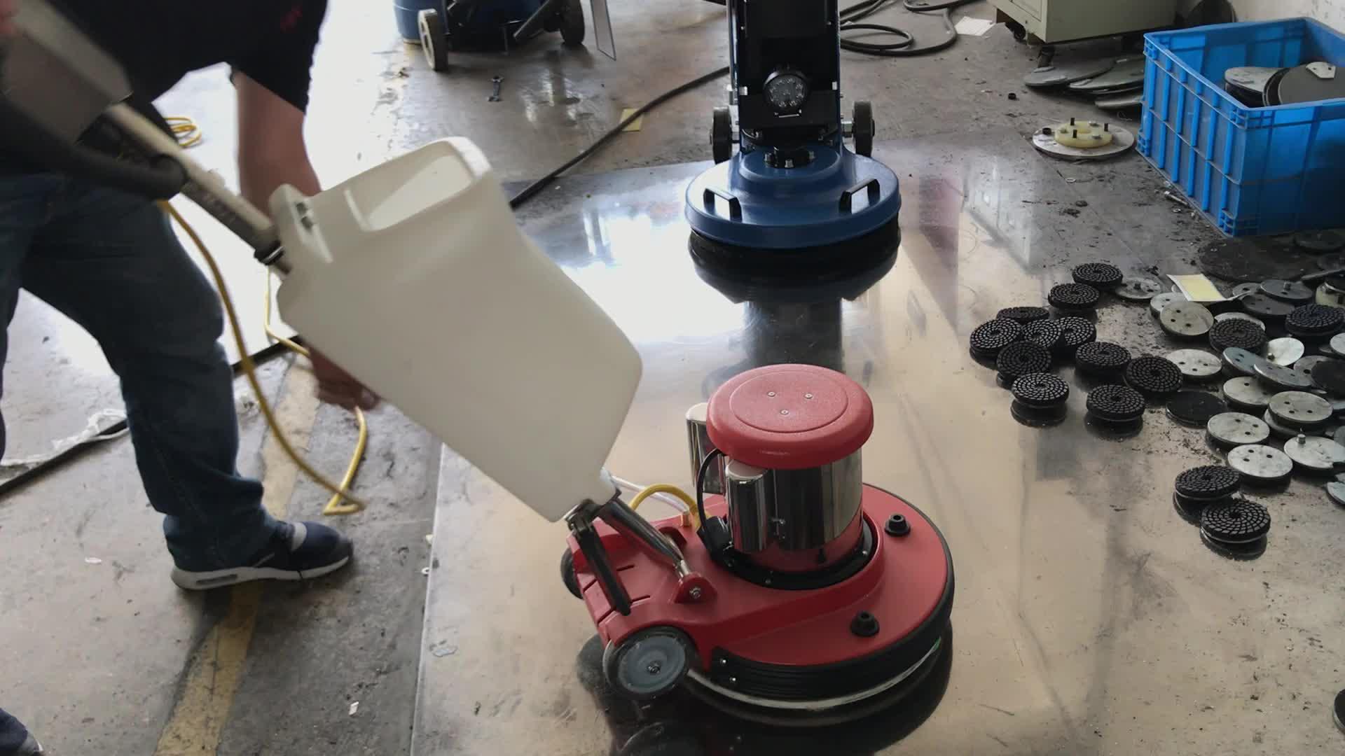 2HP elettrico di pulizia del pavimento della macchina lucidatrice e grinder