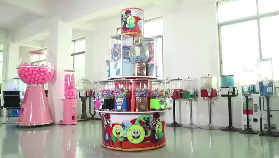 New Products Wholesale Standing Capsule Kids Toys Vending Machine