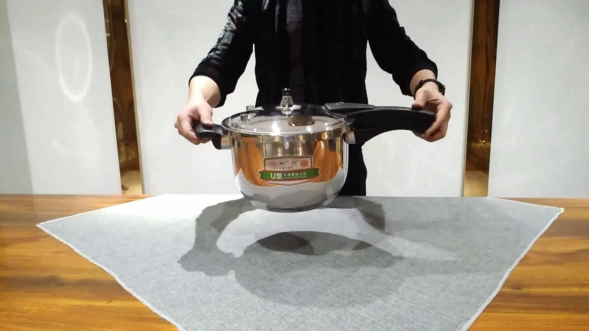 Stainless steel Pressure Cookers Pressure cooker with temperature control