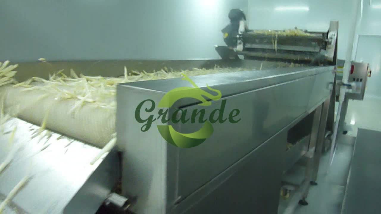 2018 GRANDE Advanced Technology and Design Sweet Potato Chips Processing Making Machine for Sale