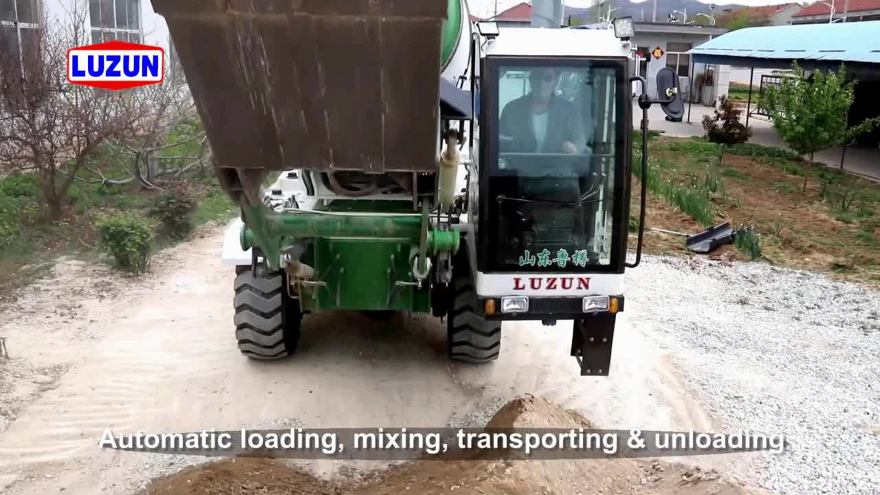 セルフローディングコンクリート輸送ミキサーメーカー中国