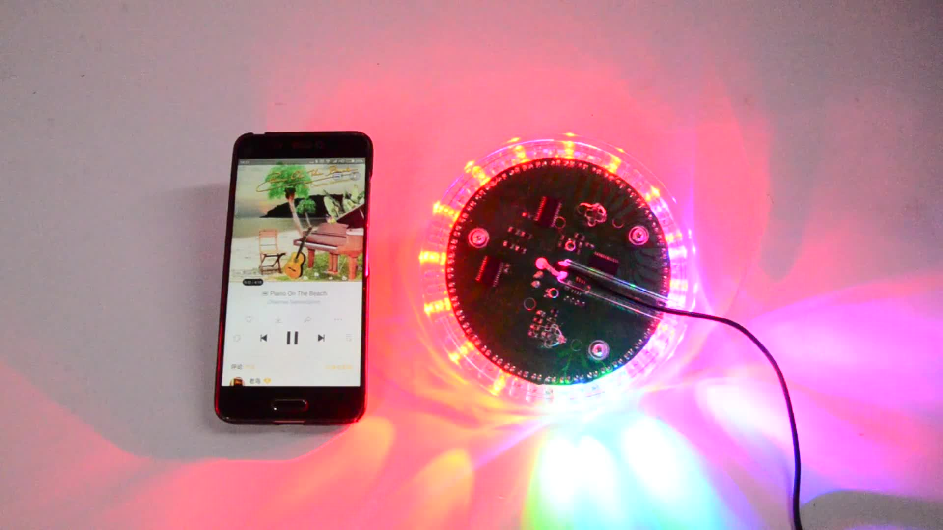 Free sample for newest mini led disco ball light RGB party lamp colorful magic stage light for parties,KTV,Club