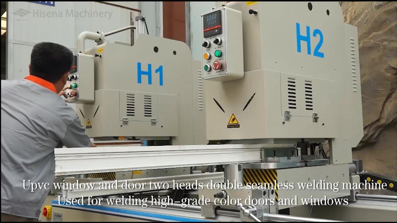 Single Head Seamless Corner Welding Machine for UPVC Window and Door Machine