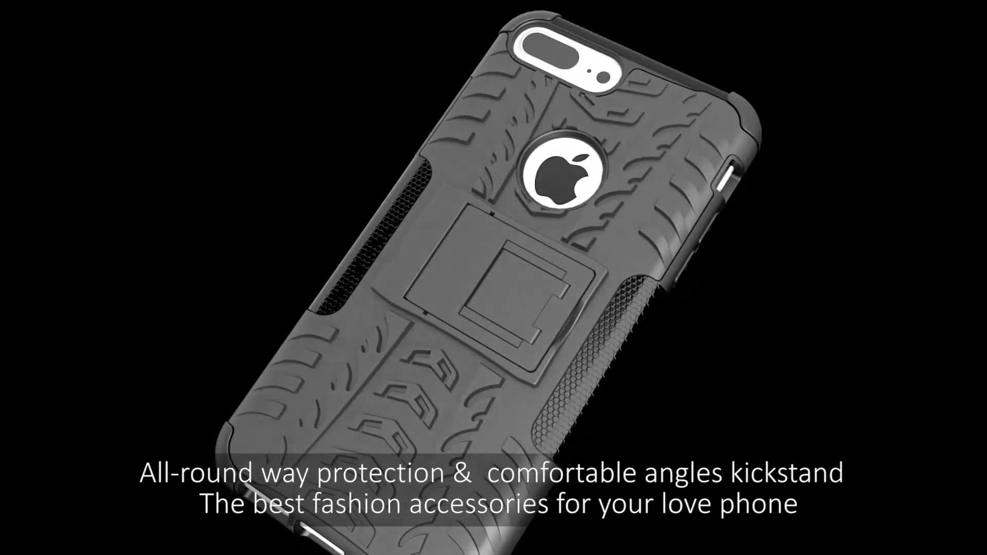 Roiskin Wholesale Case Dazzle Rugged Back Cover Kickstand Phone Armor Cases For Huawei Y9 Prime 2019 Cover
