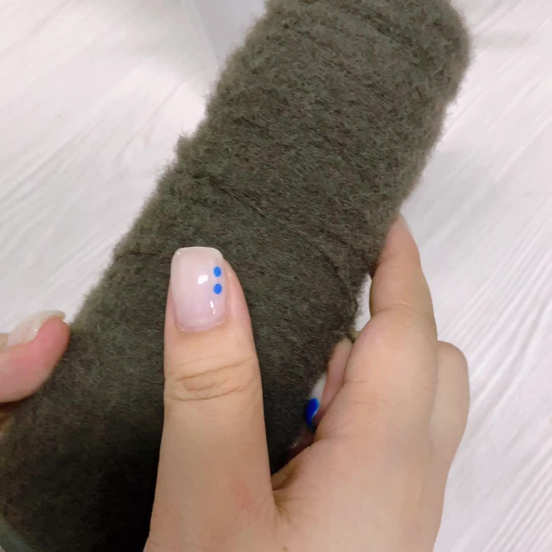 Super Soft Charmkey Nylon  Fancy Knitting Yarn for China Wholesale