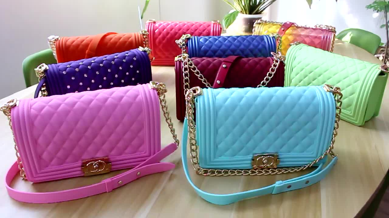 2020 New Arrivals 10years Factory Free Sample Accept Wholesalers or Retailers for jelly purses and handbags
