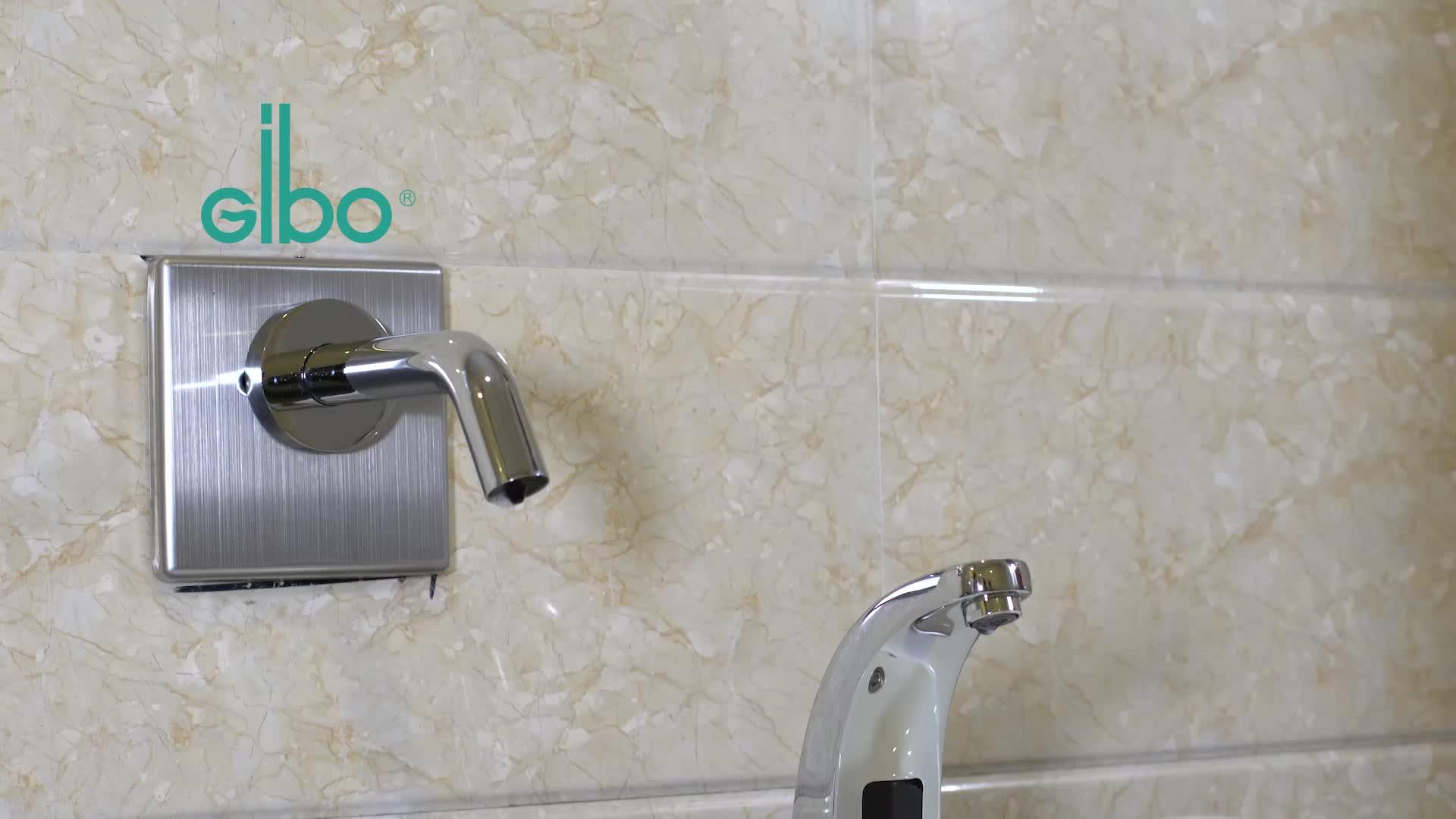 GIBO Del Sensore Rubinetto Del Bacino 1/2 Pollici Valvola Acqua A Solenoide