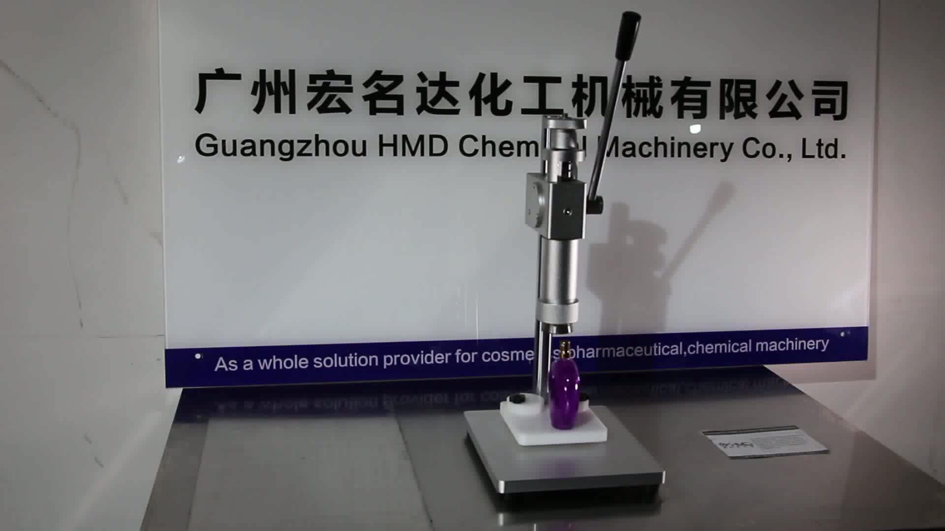 Tomada de fábrica! Manual de máquina de friso da tampa da bomba do perfume para 12mm, 15mm, 18mm, 20mm, 22mm
