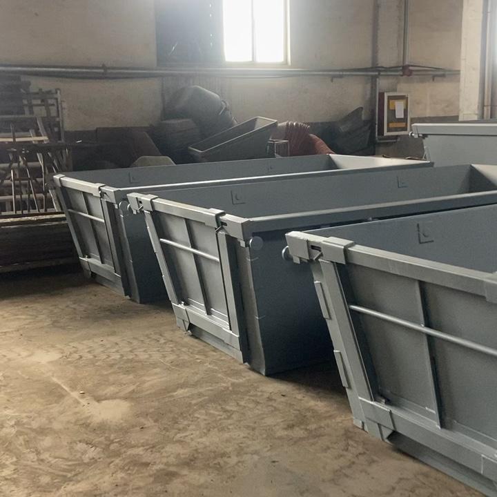 6 M personalizzato heavy duty saltare carico bin