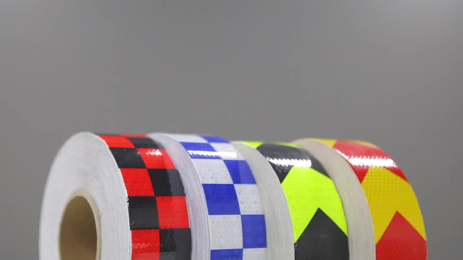 Pvc micro prism sparkle checkered reflective tape vinyl roll sheeting material for warning safety