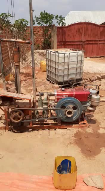 China factory supply diesel water well drilling machine