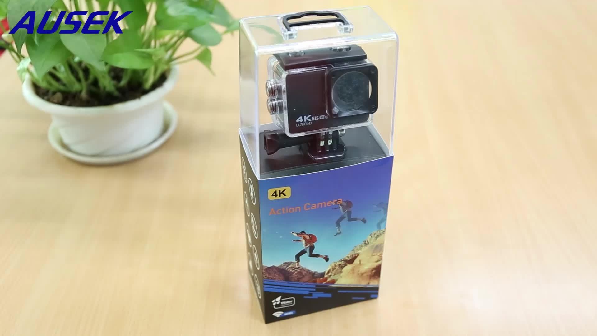 2020 Новый высокое качество akaso ek7000 Спортивная камера 4K wifi Водонепроницаемая цифровая 20MP EIS видео камера мотоцикл камера