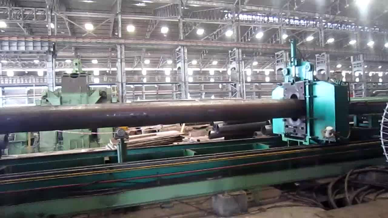 406mm hot induction cylinder expanding forming machine