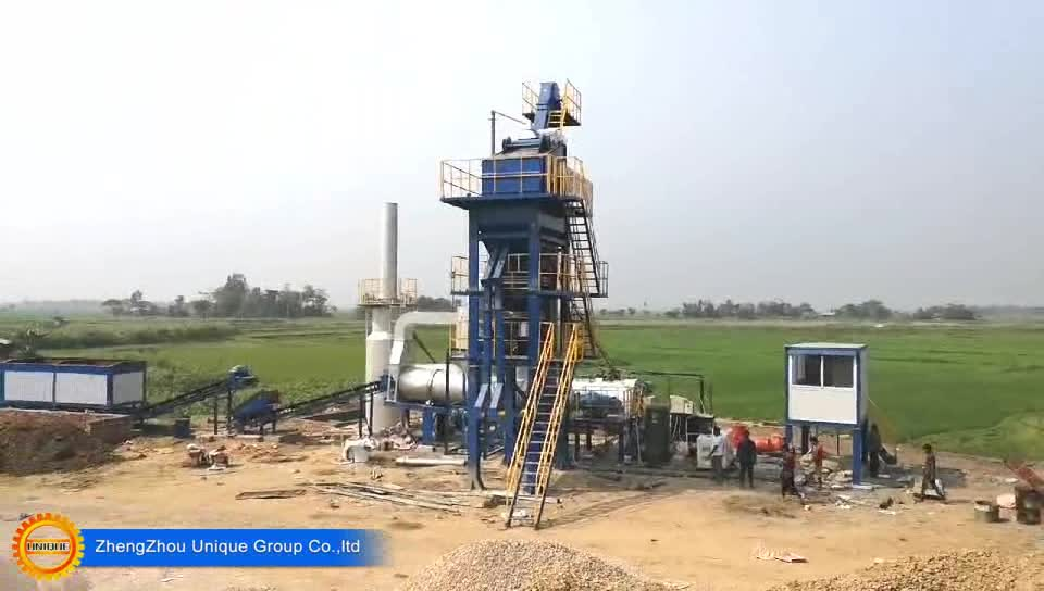 Hot sale 80t/h batch type asphalt plant road construction machinery