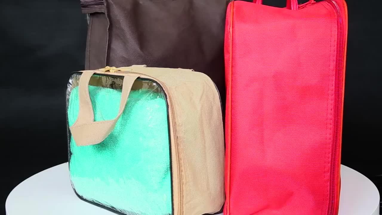 プラスチックpvcジッパー収納袋用服、毛布、キルトパッキング